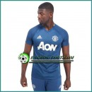 Training T Shirt Manchester United Bleu 2016 2017 Soldes Marseille