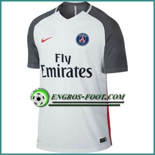 Training T Shirt Paris PSG Blanc/Gris 2016 2017 à Vendre