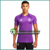 Training T Shirt Real Madrid Pourpre 2016 2017 Rabais