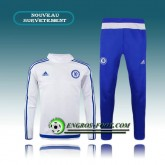 Vente Privee Survetement Foot Chelsea Blanc (02) 2015 2016