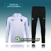Vente Survetement Foot France Blanc 2016 2017