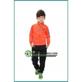 Veste Foot Enfant FC Barcelone Orange 2016 2017 Vente En Ligne