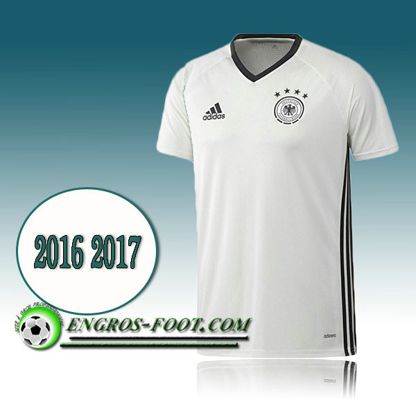 Maillot Training Equipe de Allemagne Blanc PRE-MATCH 2016 2017