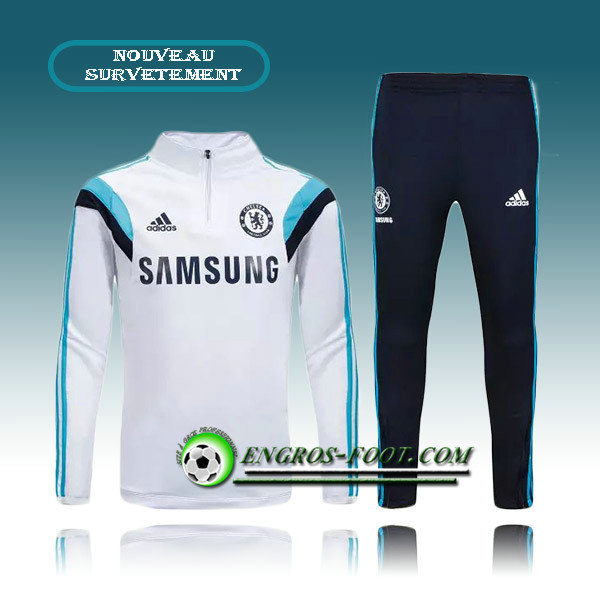 La Boutique Officielle Survetement Foot Chelsea Blanc 2015 2016