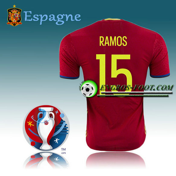 Maillot Foot Espagne Domicile - RAMOS 15
