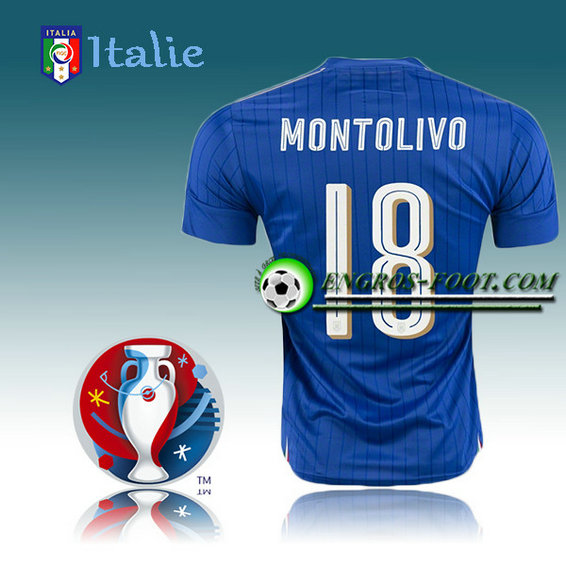 Maillot Euro 2016 Foot Italie Domicile - MONTOLIVO 18
