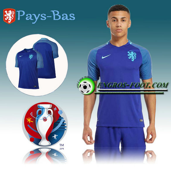 Maillot Euro 2016 Foot Pays-Bas Exterieur