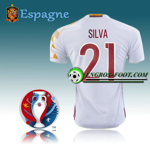 Maillot Foot Espagne Exterieur - SILAV 21