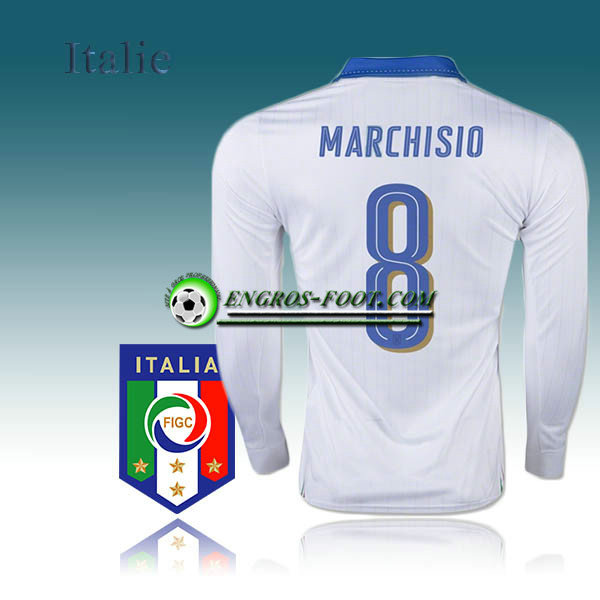 Maillot Manche Longue Foot Italie Exterieur 16-17 - MARCHISIO 8