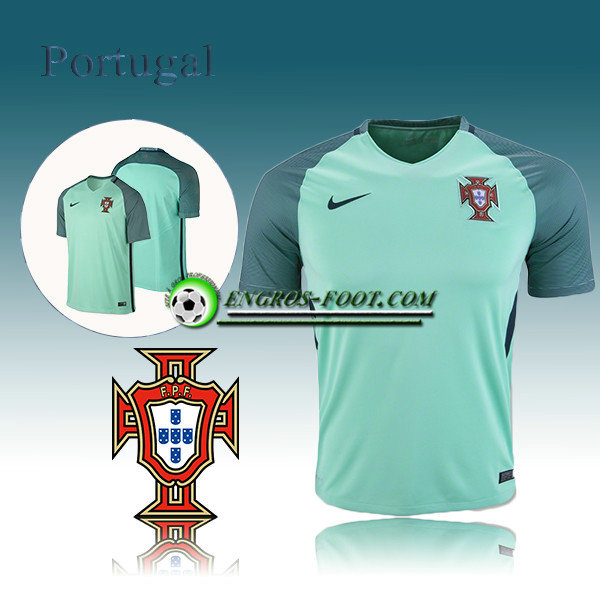 Maillot Equipe Portugal Exterieur 2016-2017