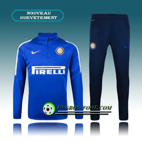 Survetement Foot Inter Milan Bleue 2015 2016