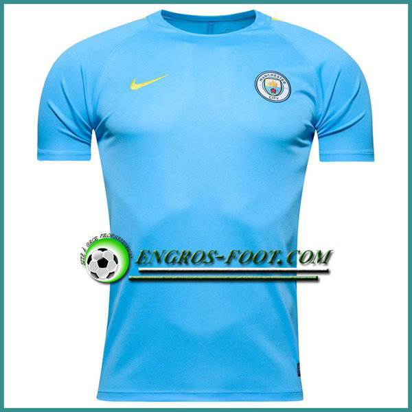 Training T Shirt Manchester City Bleu 2016 2017