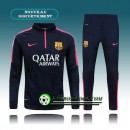 France Survetement Foot FC Barcelone Noir 2015 2016