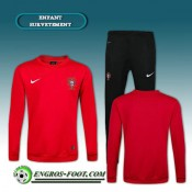 La Boutique Officielle Survetement Foot Portugal Enfant Rouge 2016 2017