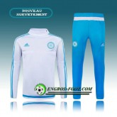 La Collection 2017 Survetement Foot Marseille OM Blanc (02) 2015 2016