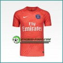 La Collection 2017 Training T Shirt Paris PSG Rouge Printing 2016 2017