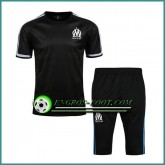 Magasin T Shirt Marseille OM Noir Kit 2016 2017 et Pantalon 3/4 Paris