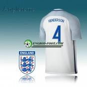 Maillot Equipe Angleterre Domicile 2016/17 - HENDERSON 4 Ventes Privées