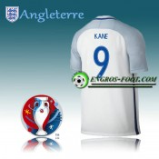 Maillot Euro 2016 Foot Angleterre Domicile - KANE 9 Promos