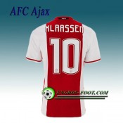 Maillot de AFC Ajax KLAASSEN 10 Domicile 2016 2017 Site Officiel
