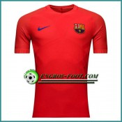 Officielle Training T Shirt FC Barcelone Rouge 2016 2017