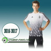 Paris Maillot de Training Juventus Blanc PRE-MATCH 2016 2017