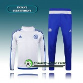 Survetement Enfant FC Chelsea Blanc 2016 2017 Promos
