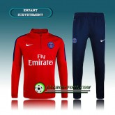 Survetement Enfant Paris PSG Rouge 2016 2017 Site Officiel