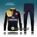 Survetement Foot Arsenal Jaune&Noir 2015 2016 Original