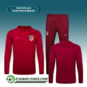 Survetement Foot Atletico Madrid Rouge 2016 2017 Soldes Nice