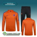 Survetement Foot Netherlands Orange 2016 2017 Vendre