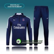 Survetement Foot Paris PSG Bleu 2015 2016 Paris