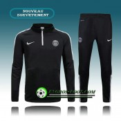 Survetement Foot Paris PSG Noir 2015 2016 Officiel