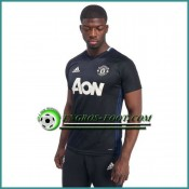 Training T Shirt Manchester United Noir 2016 2017 Promo Prix Paris