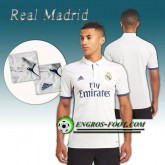 Vente Privee Maillot de Real Madrid Domicile 2016 2017 Blanc