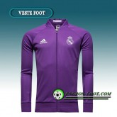 Veste Foot Real Madrid Pourpre 2016 2017